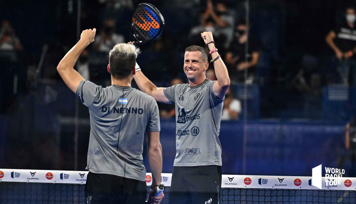 Paquito and Di Nenno were into their eighth semi-final of the year